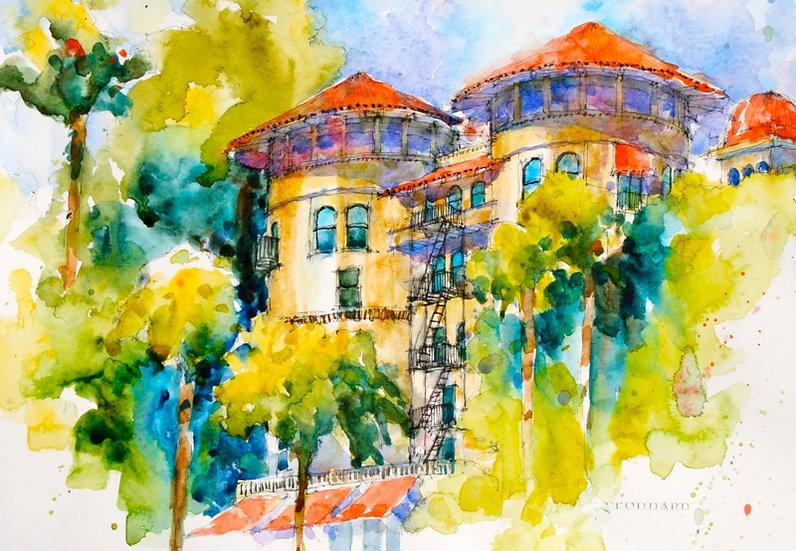 """Green Hotel, Pasadena"""