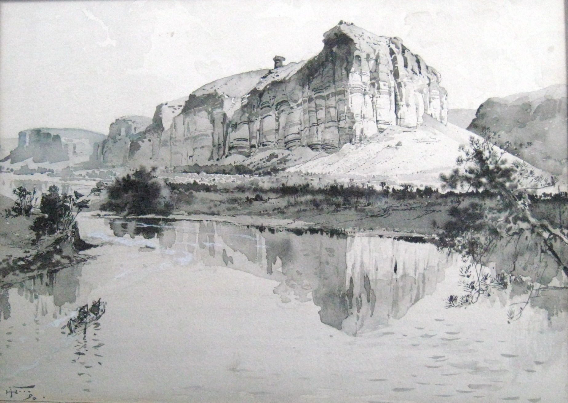 """On Green River, Wyoming"""