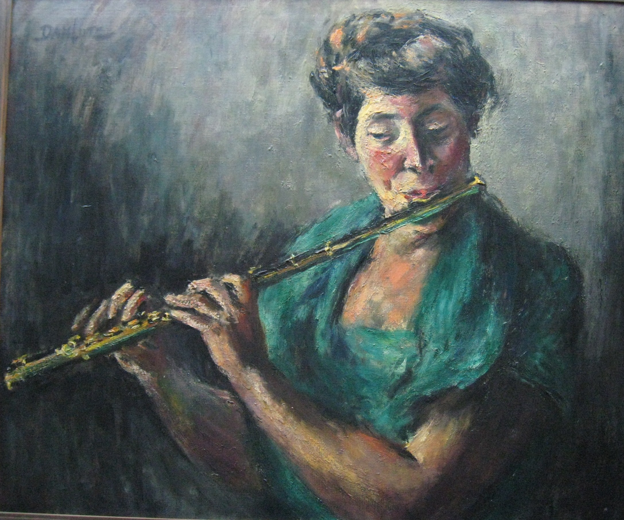 """The Flute Player"""
