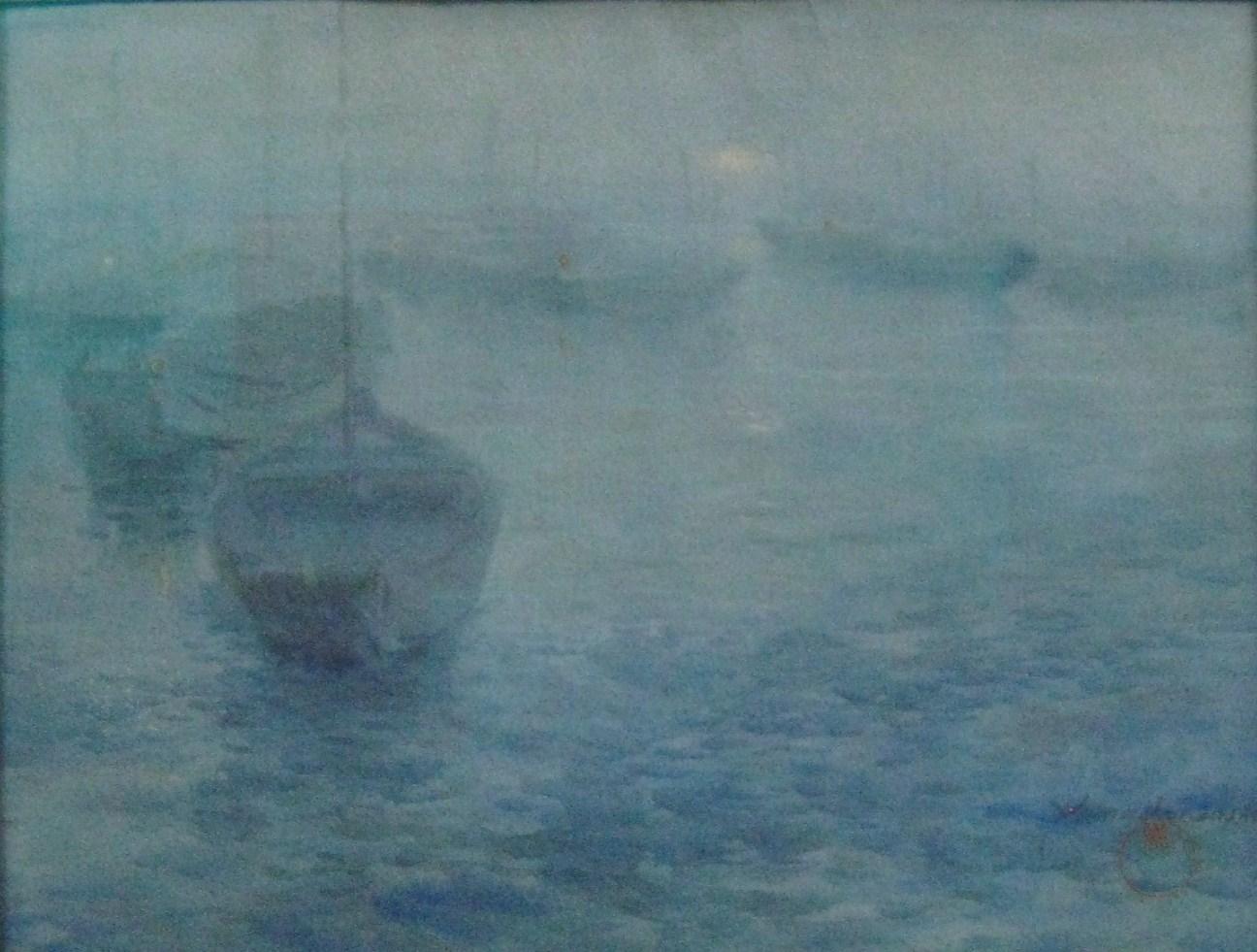 """""""Boats at Night"""""""