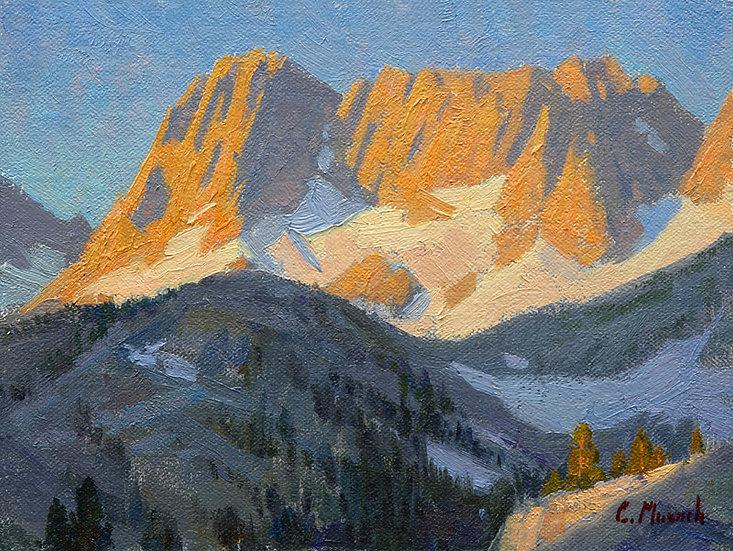 """Minarets Sunrise-High Sierra"""