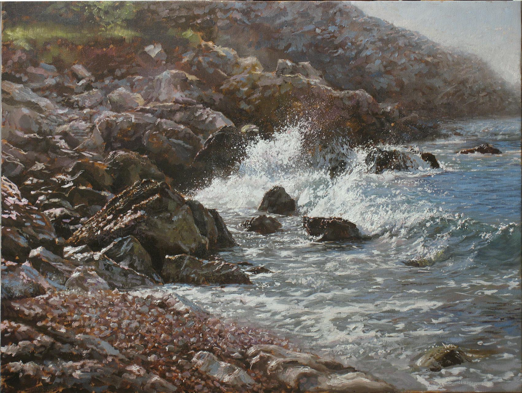 """""""Rocks and Roll- Morning Wave"""""""