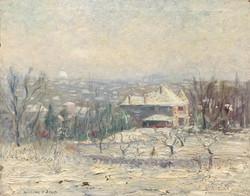 """""""House in Snow Scene"""""""