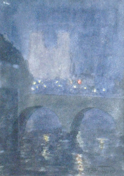 """""""Paris at Night, 1920"""""""