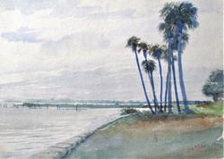 """Florida Coastline- 1932"""