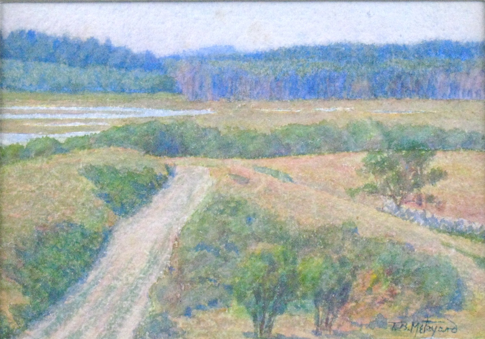 """The Road to the Marshes Scituate"""