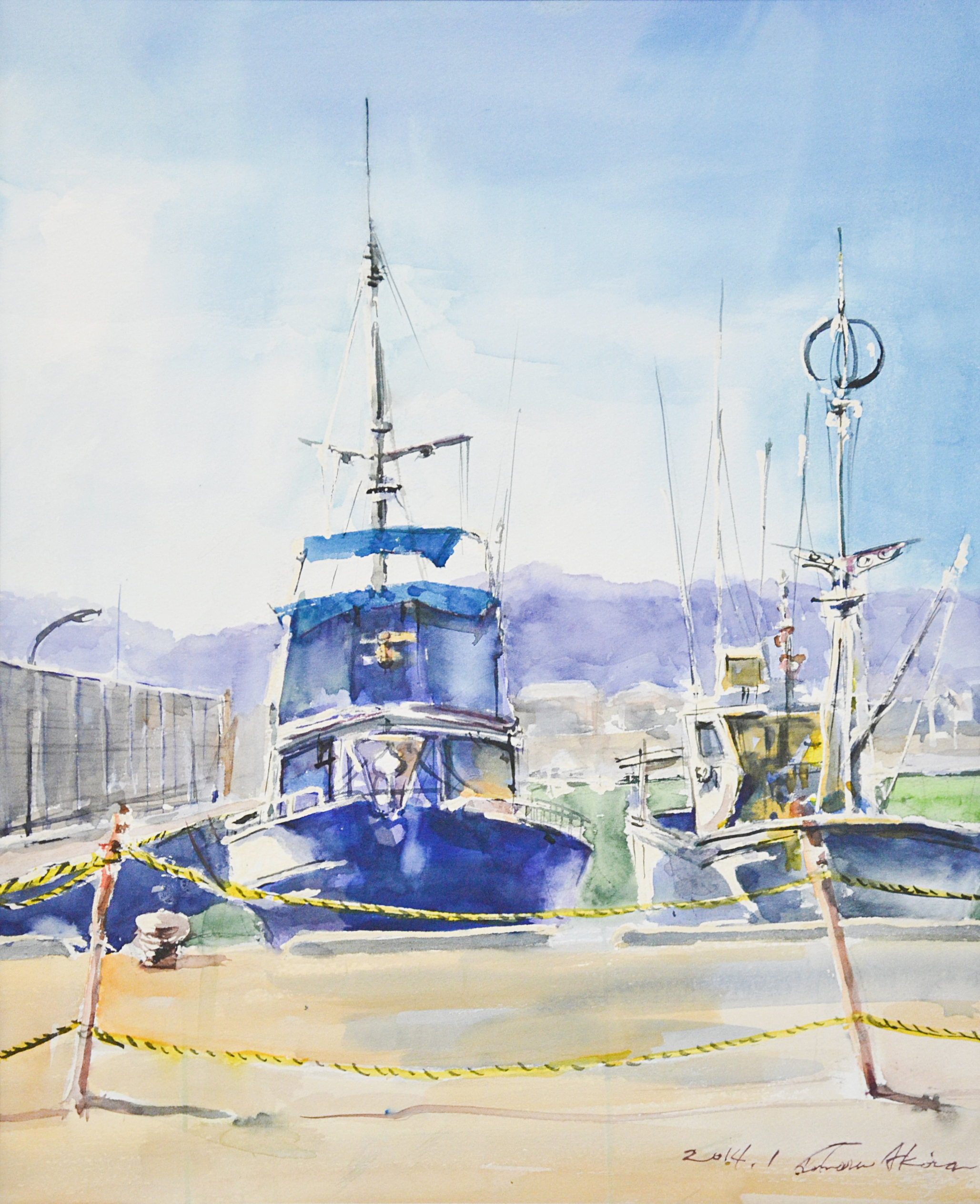 """Aoshima Fishing Port"""
