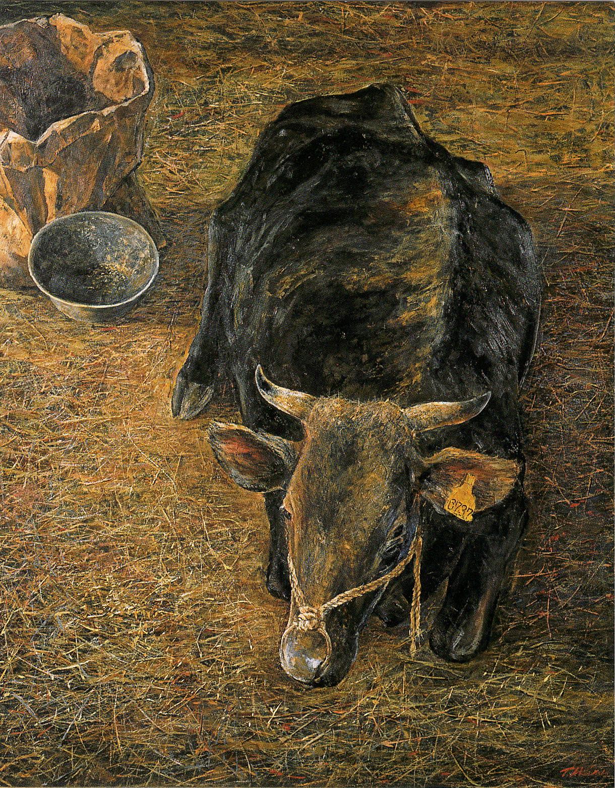 """「老牛 Ⅰ」 """"Old Cow Ⅰ"""""""