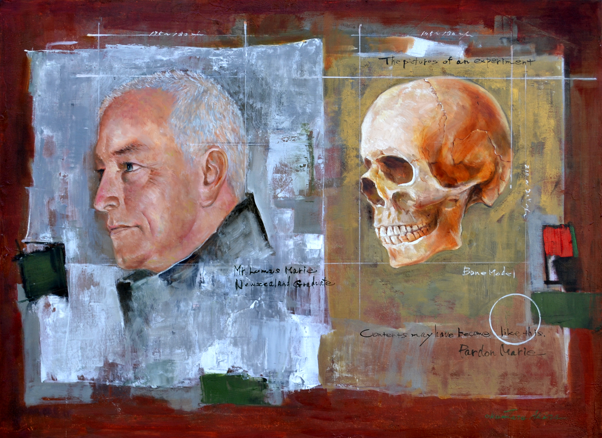 「肖像考察 Mr. Murray」