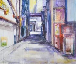 """Alley, Tachibana Street"""