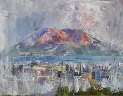 """Sakurajima Volcano"""