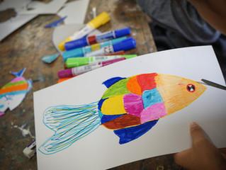「子供絵画教室」