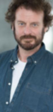 Richard Ashton, Actor, Wearing a denim shirt