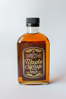 Brandy Barrel Aged Maple Syrup