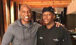 Jarret Payton & Chef Ason Thomas