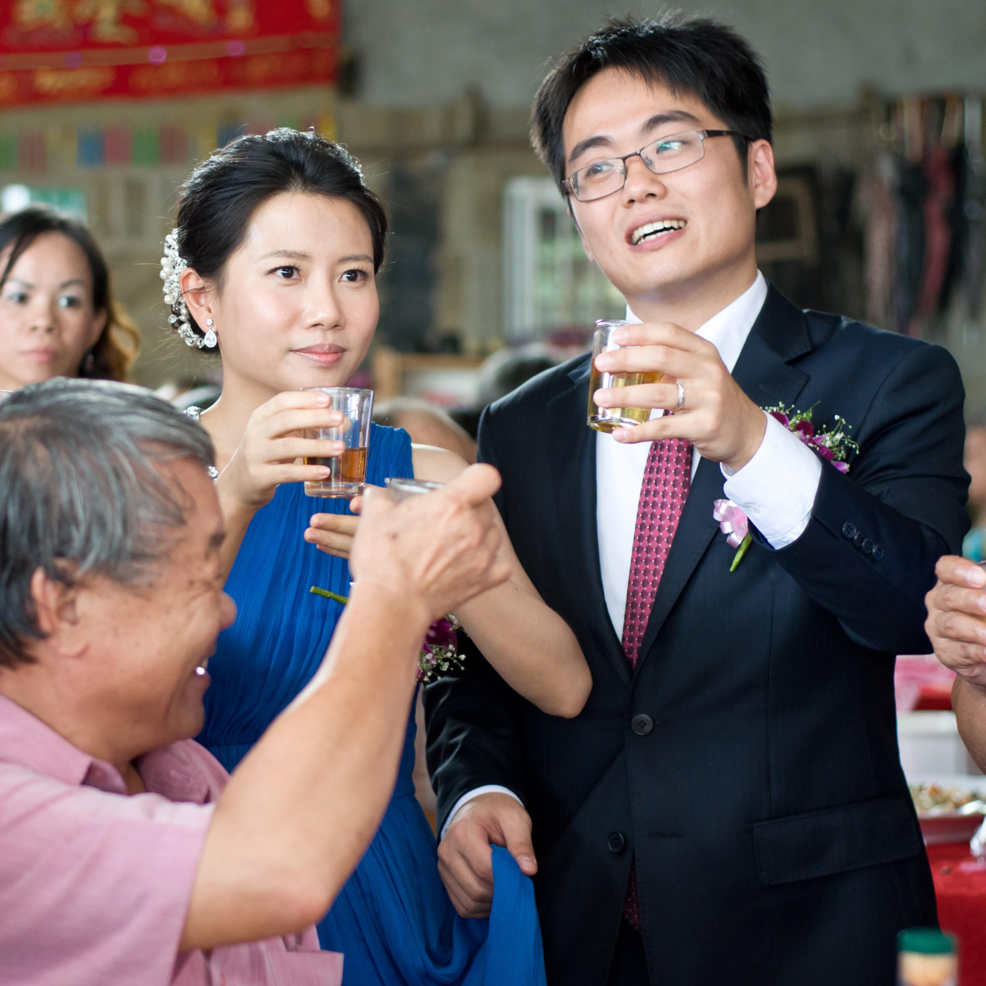 一場都市到鄉村的婚禮