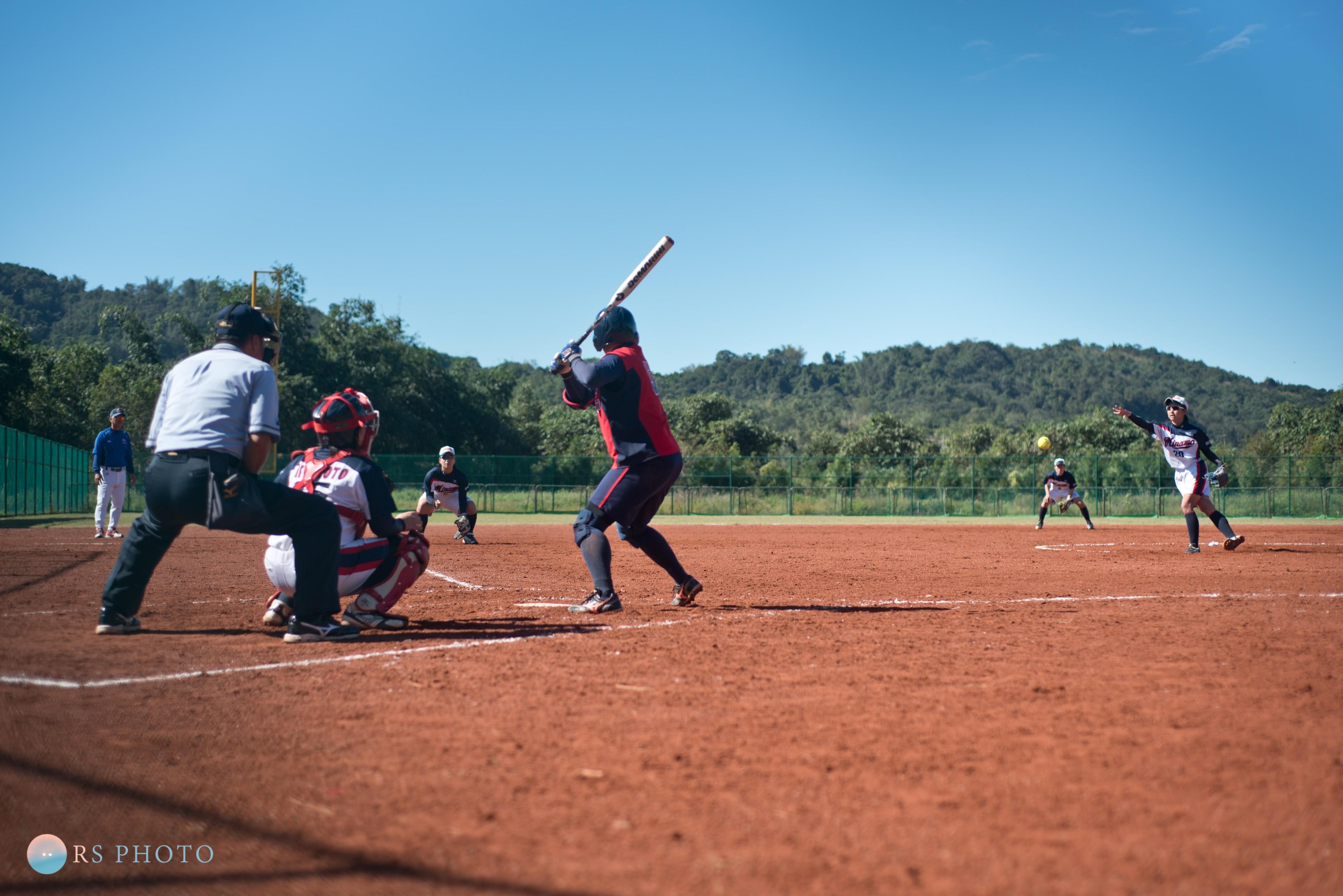 競賽紀實|女子壘球賽