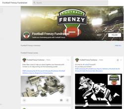 Football Frenzy Google+