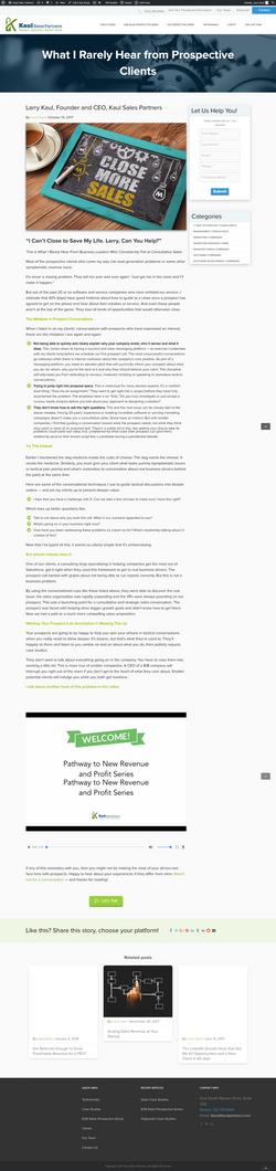 Prospective Clients Blog