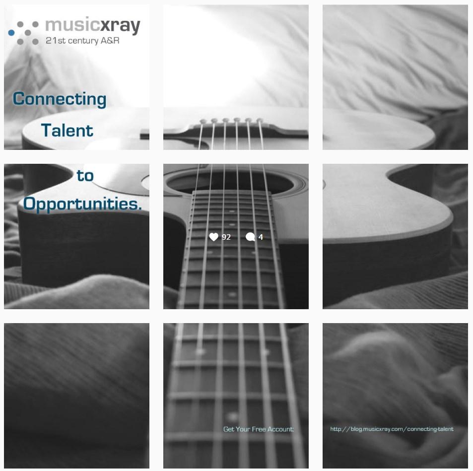MXR Instagram Guitar Split Campaign