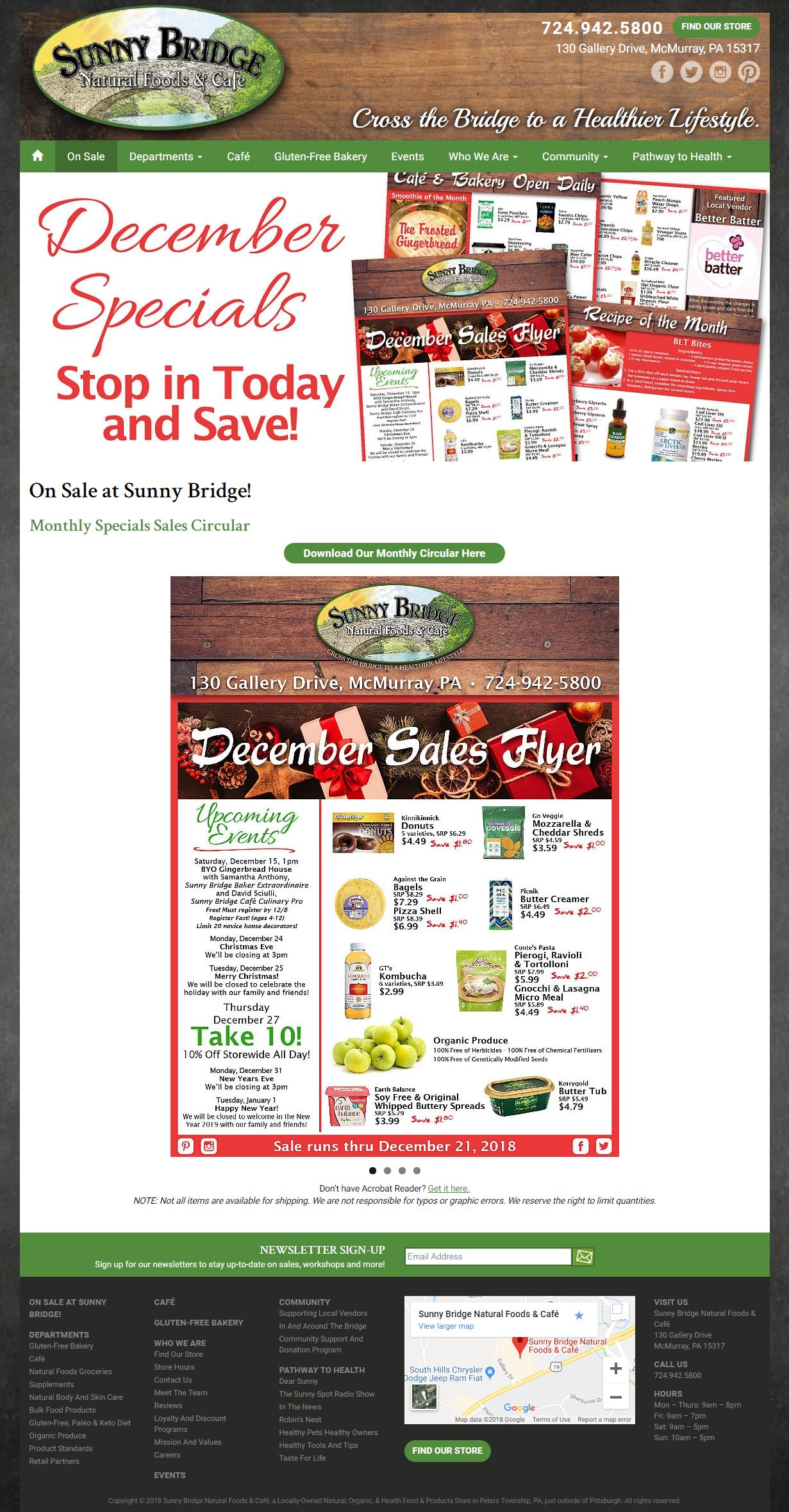 Sales Flier Page