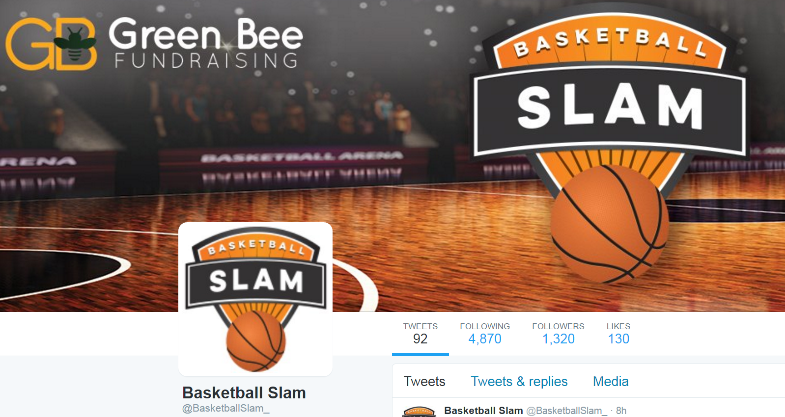 Basketball Slam Twitter