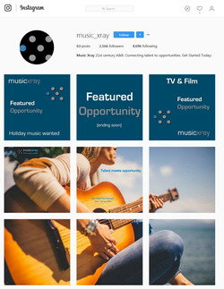 Music Xray Instagram