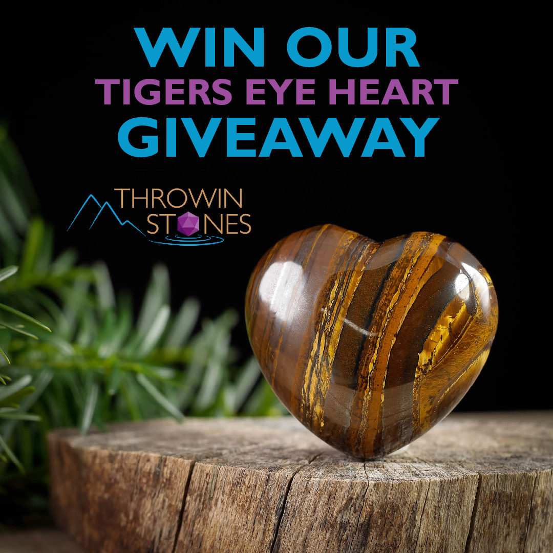 Tigers Eye Heart Giveaway