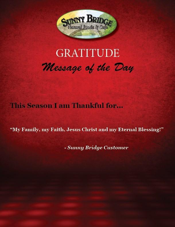 GratitudeMsgOfDay