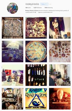 Rosleys Rocks Instagram