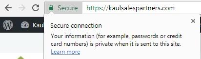 SSL update