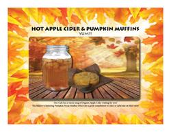 Cider Muffin Ad