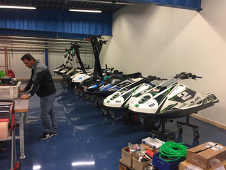 Season prep at the SAS-racing HQ