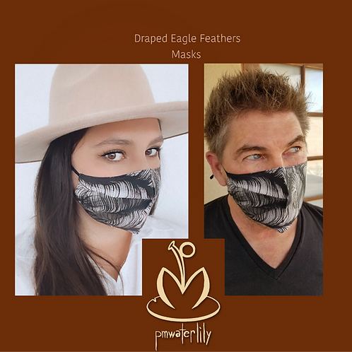 """Draped Eagle Feathers"""""""