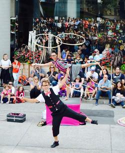 20-street duo hoops