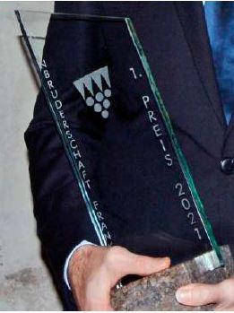 Ehrenpreis der Weinbruderschaft Franken