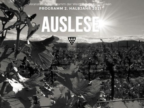 Neues Programm der Weinbruderschaft Franken