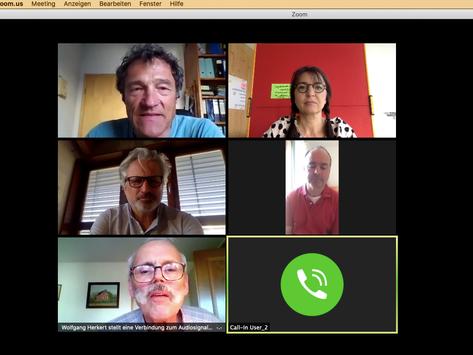 Not macht erfinderisch - erste Videokonferenz des Vorstands
