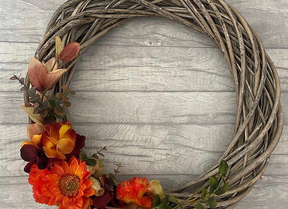 Large Autumnal Door Wreath