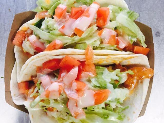 Yum Yum Shrimp Tacos