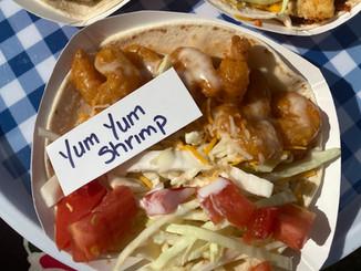 Blackened Chicken, Fish, & Yum Yum Shrimp Tacos