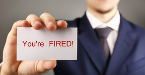 How to handle getting fired?