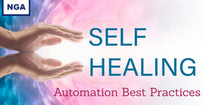 Self Healing Test Automation Best Practices
