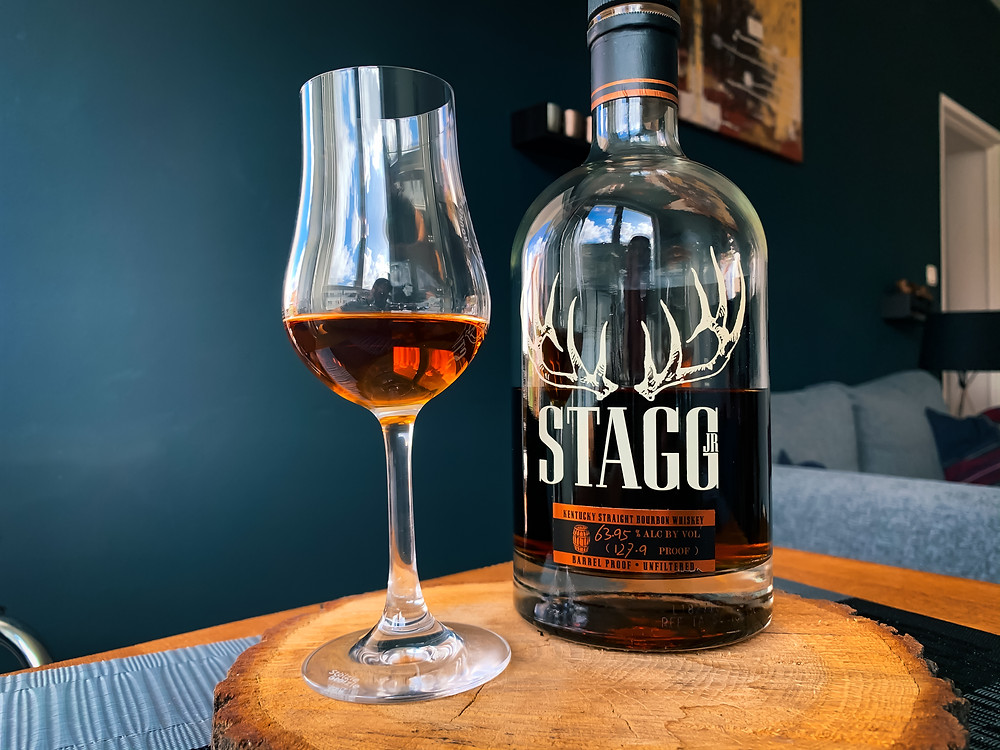 Stagg Jr. Bourbon from the Buffalo Trace Distillery in Kentucky, USA.