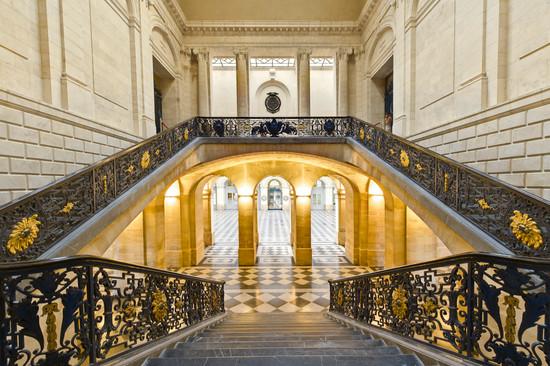 Escalier d'honneur - Palais de la Bourse