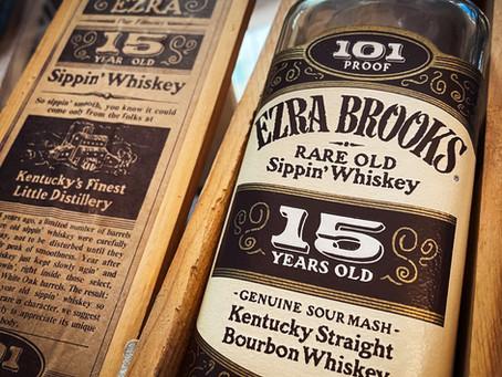 Old Ezra Brooks 15 years