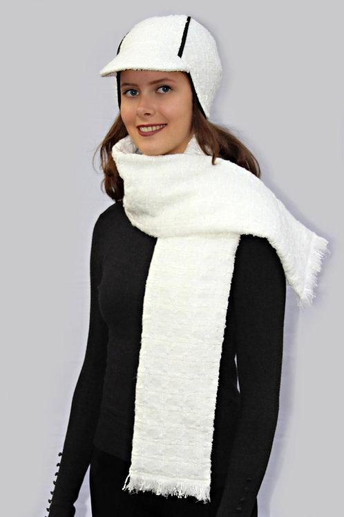 cremeweißer Schal