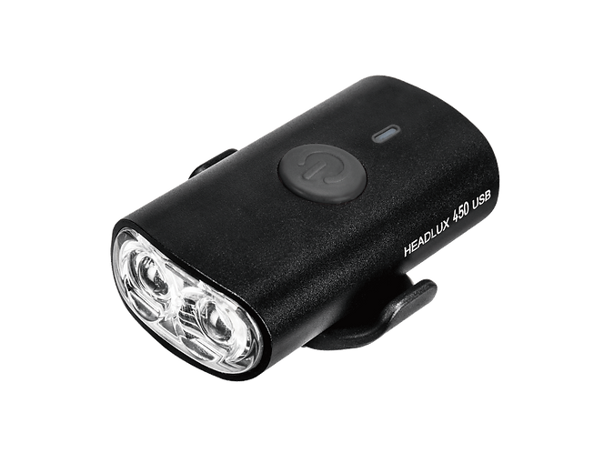 TOPEAK HEADLUX 450 USB 叉電前燈