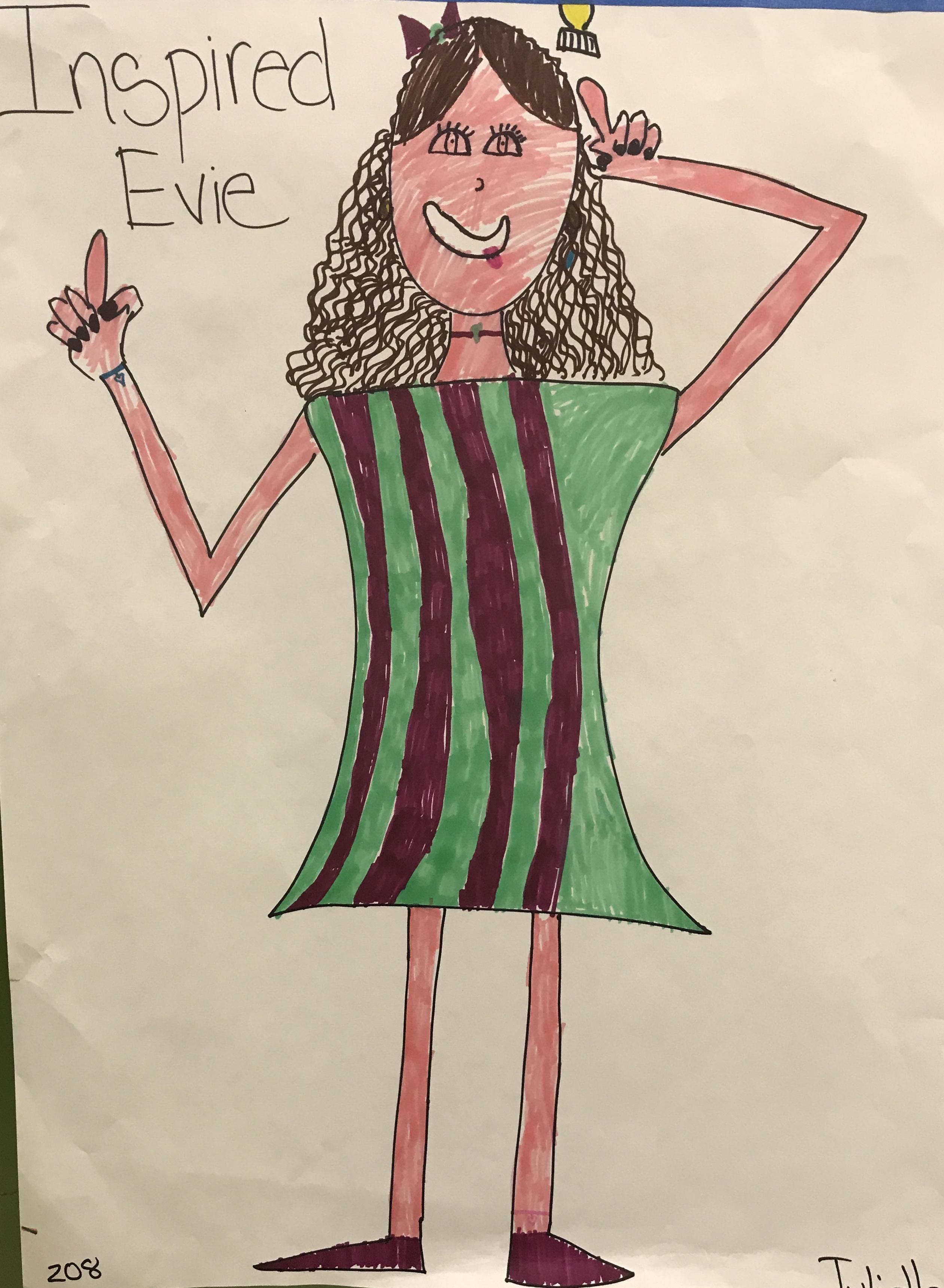 Inspired Evie