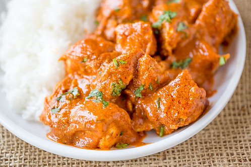 Butter Chicken on Basmati Rice - March 20th